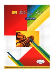 Psi Square Writing Pad, 5mm, Multicolor