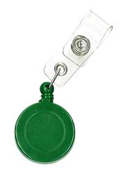 Partner Badge Reel for ID Card Holders, Green