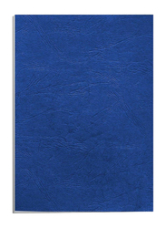 Partner Embossed Binding Sheet, 100 Pieces, A4 Size, Blue