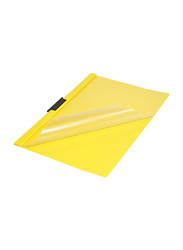 Durable Duraclip File Set, 25-Piece, A4 Size, Yellow/Clear