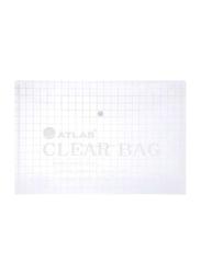 Atlas Bag Style File Folder, Clear