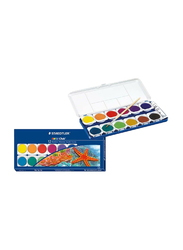 Staedtler Noris Club Water Colour Set with Brush, 12 Capsules, Multicolour