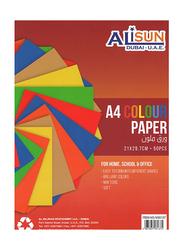 Alisun Color Paper, 50 Sheets, A4 Size, Multicolor