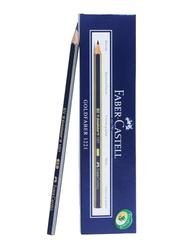 Faber-Castell Goldfaber 1221 6B Wooden Pencil, Blue