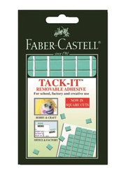 Faber-Castell Tack-It Removable Adhesive Set, 90 Pieces, Light Green