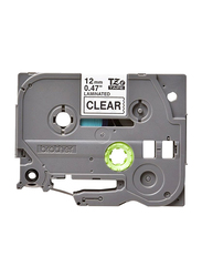 Brother Labeling Tape Cassette, Clear