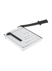 Compact Paper Cutter, A4 Size, White/Black