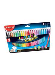 Maped 24-Piece Color'Peps Long Life Sketch Pen Set, Multicolour