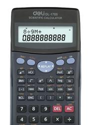 Deli Scientific Calculator, DL-1705, Grey/Black
