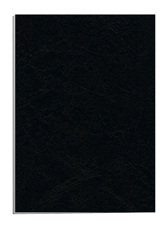 Partner Embossed Binding Sheet, 100 Pieces, A4 Size, Black