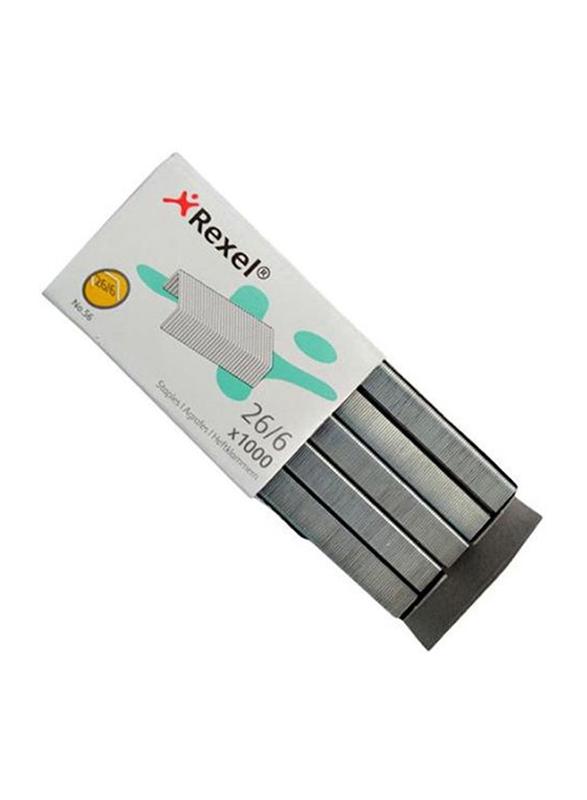 Rexel Staple Pin Set, Grey