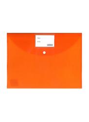 Partner Fullscape Document File Bag, 350 x 250mm, Orange