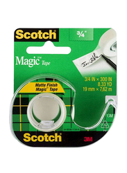3M Scotch Magic Tape, 19mm x 7.62m, Clear