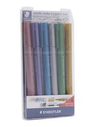Staedtler 6-Piece Metallic Marker Set, Multicolour