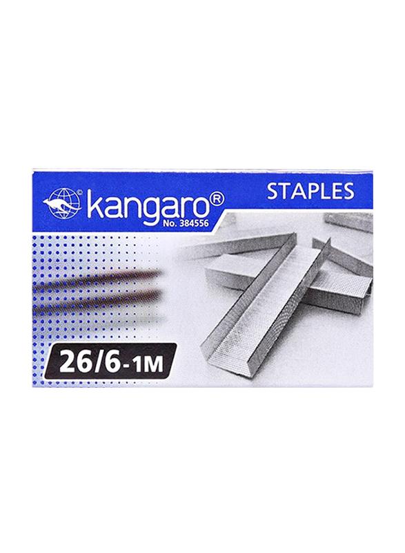 Kangaro Staple Wire Set, 20 Pieces, Silver