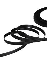 Itelker 25 Yard Satin Ribbon Party Decoration Supplies, Black