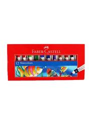 Faber-Castell Water Colour Tube Set, 12 Pieces x 12ml, Multicolour