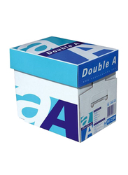 Double A 80GSM Printer Paper, 5 x 500 Sheets, A4 Size, White