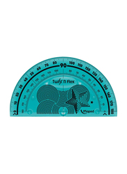 Maped Flexible Protractor, Blue