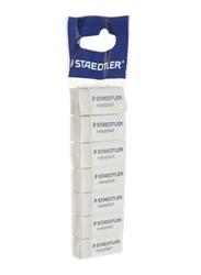 Staedtler 7-Piece Rasoplast Eraser Set, White