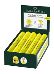 Faber-Castell 10-Piece Textliner Highlighter Pen Set, Yellow