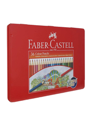 Faber-Castell 36-Piece Colors of Nature Pencil Set, Multicolor
