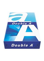 Double A Premium Printer Paper, 500 Sheets, 80 GSM, A4 Size, White