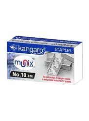 Kangaro Staplers Pin, 1000 Pins, Silver