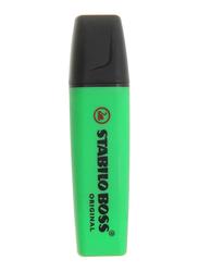 Stabilo Boss Original Permanent Marker, Green