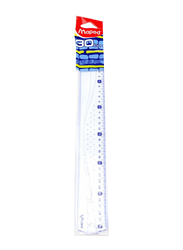 Maped Graphic Ruler Bar, MD-242030, Clear