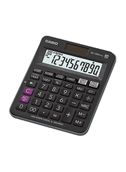 Casio 10-Digit Basic Calculator, MJ-100D Plus, Black