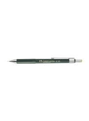 Faber-Castell Mechanical Pencil, Green/Silver/Yellow