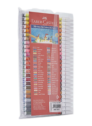 Faber-Castell 50-Piece Fibre Tip Colour Sketch Pen Set, Multicolour