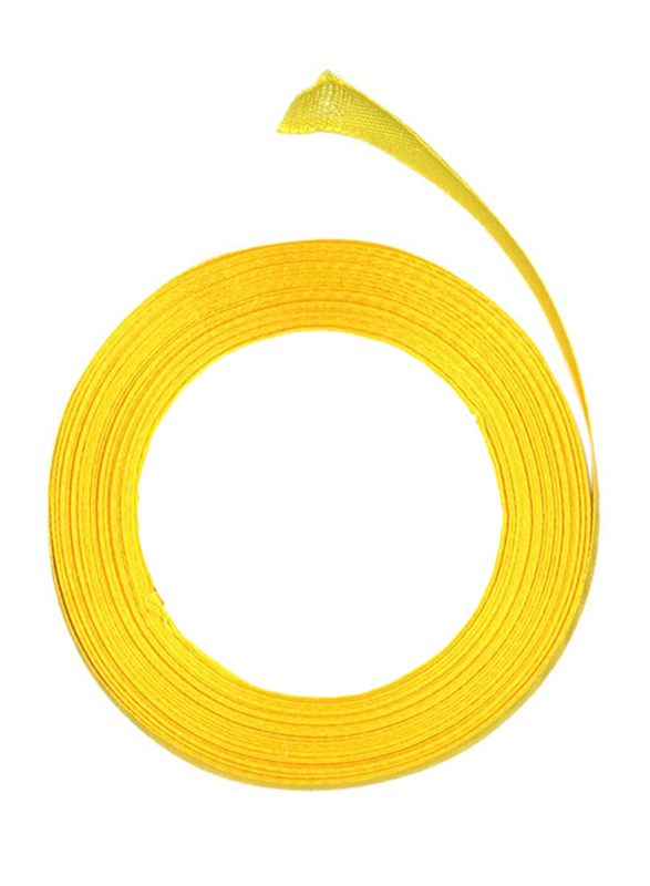 Thin Craft Ribbons, Yellow