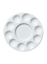 PSI Round Painting Palette, White