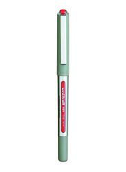 Uniball Fine Eye Rollerball Pen, Red/White