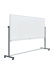 Digital Magnetic Whiteboard with Stand, White