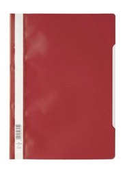 Durable Economy Project File, A4 Size, Red