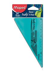 Maped Flexible Set Square, Blue