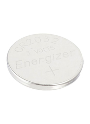 Energizer CR2032 Electronic Watch Lithium Battery, Silver