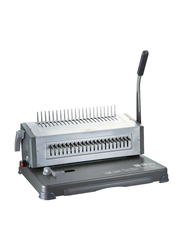 Deli Steel Hole Binding Machine, Grey