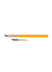 Olfa Art Knife and Blade Set, Yellow