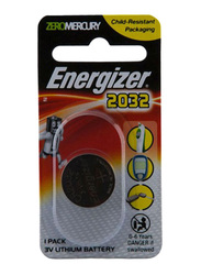 Energizer 2032 Lithium Coin Battery, Silver