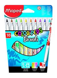 Maped 10-Piece Colour Peps Felt Tip Pen Set, Multicolour