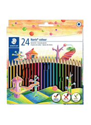 Staedtler 24-Piece Noris Colour Pencil Set, Multicolour