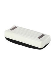 Deli Magnetic White Board Eraser, White