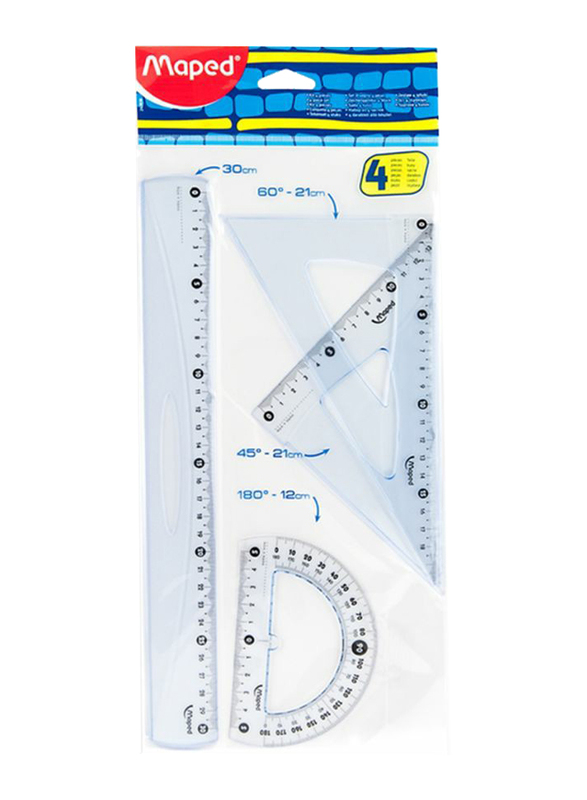 Maped Maxi Drawing Set, Clear