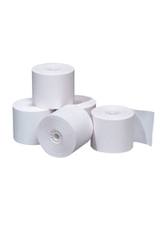 Labtek 60-Piece Thermal Receipt Roll Set, White