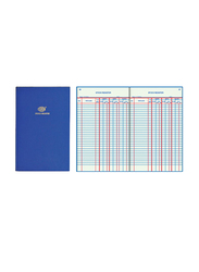 PSI Stock Register Book, 196 Sheets, Blue