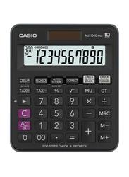 Casio 10-Digit MJ100D Plus Financial Calculator, Black